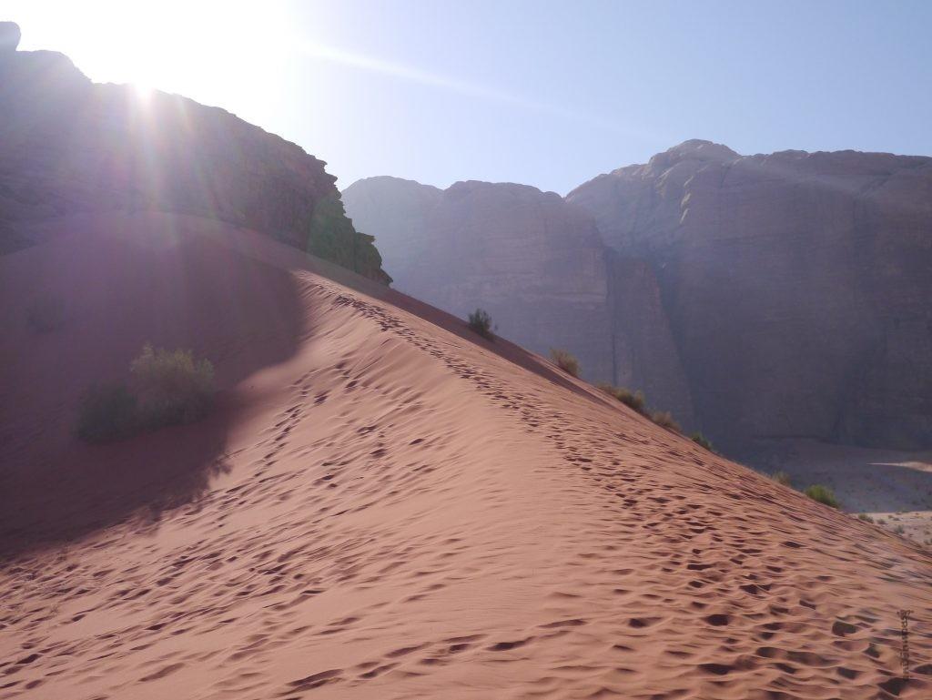 sable et voyage